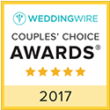 WeddingWire Couples' Choice Awards 2017 Winner - Joy Wallace Catering
