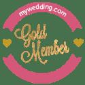 My Wedding.com Gold Member